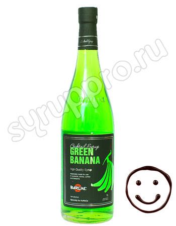 Сироп Barline Зеленый банан 1 л