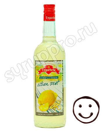 Сироп Eyguebelle Лимонная цедра 1л