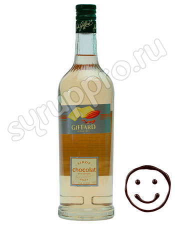Сироп Giffard Белый Шоколад 1 л