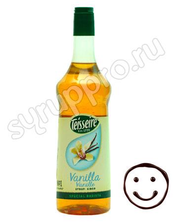 Сироп Teisseire Ваниль без сахара 1 л п/б