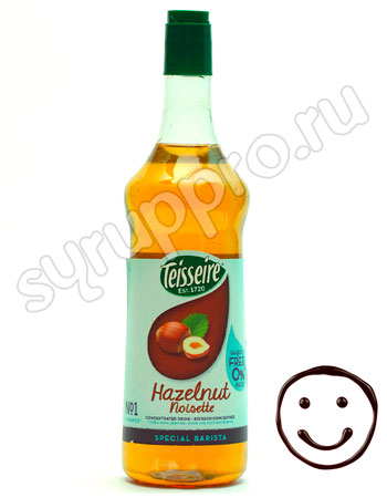Сироп Teisseire Фундук 1 л п/б