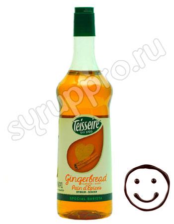 Сироп Teisseire Имбирный кекс 1 л п/б