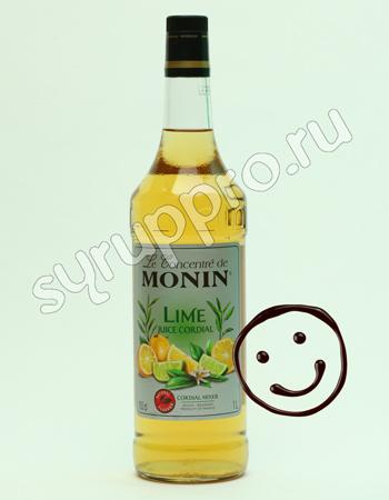 Концентрированный напиток Monin Лайм Джус 1 л