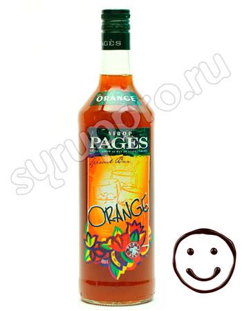 Сироп Pages Апельсин