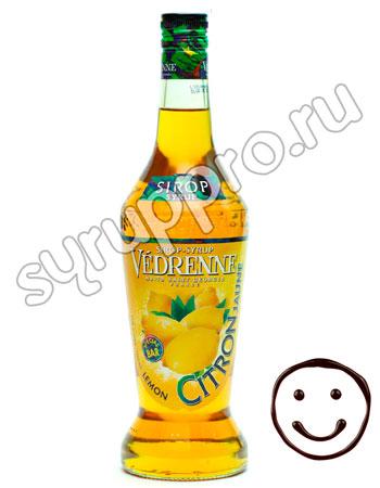 Сироп Vedrenne Лимон 700 мл