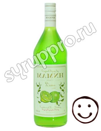 Сироп Мамин рецепт Лайм 1 литр