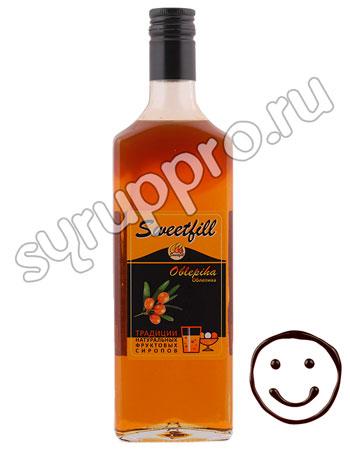 Сироп Sweetfill Облепиха 0,5 л
