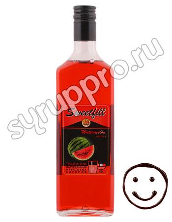 Сироп Sweetfill Арбуз 0,5 л