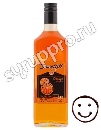 Сироп Sweetfill Апельсин 0,5 л