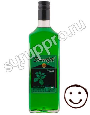 Сироп Sweetfill Мята 0,5 л
