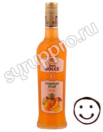 Сироп Don Dolce Тропические фрукты 0.7 л