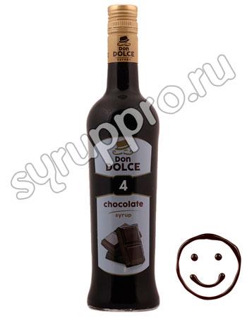 Сироп Don Dolce Шоколад 0.7 л
