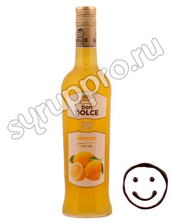 Сироп Don Dolce Лимон 0.7 л
