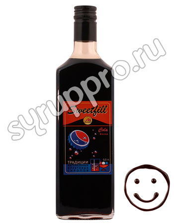 Сироп Sweetfill Кола 0,5 л