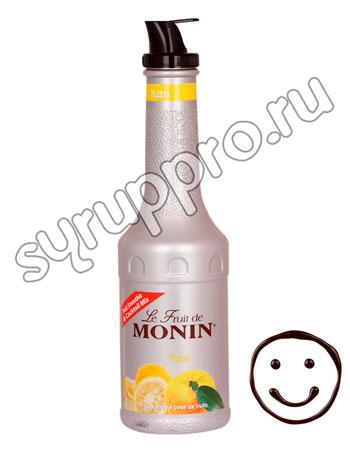 Фруктовое пюре Monin Yuzu 1 л