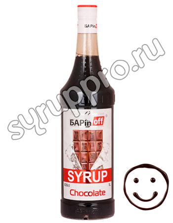 Сироп Баринофф Шоколад 1л