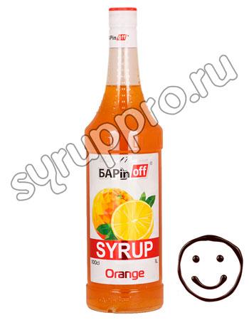 Сироп Баринофф Апельсин 1л