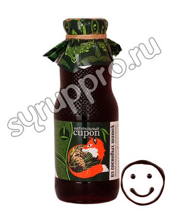 Натуральный сироп из сосновых шишек 450 гр
