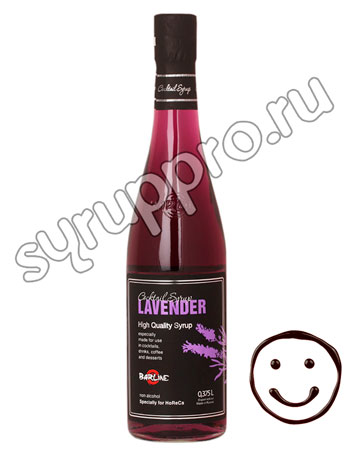 Сироп Barline Лаванда 0.375 л