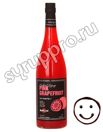 Сироп Barline Розовый Грейпфрут 1 л