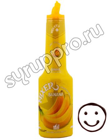 Фруктовое пюре Mixer Банан 1 л