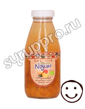 Напиток Noyan Organic персиковый с кусочками персика 330 мл