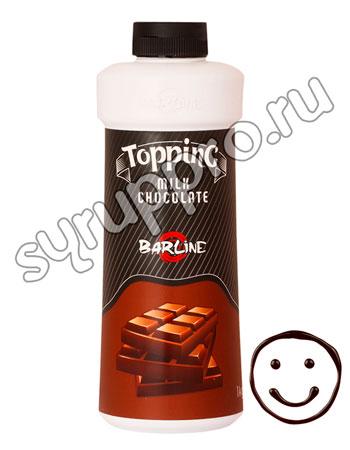 Топпинг Barline Молочный шоколад 1 л