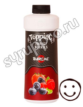 Топпинг Barline Лесные ягоды 1 л