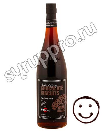 Сироп Barline Шоколадное Печенье 1 л