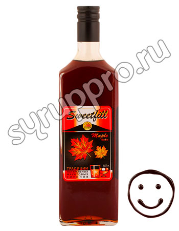 Сироп Sweetfill Клен 0,5 л