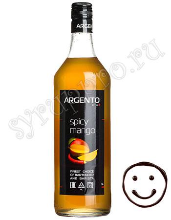 Сироп Argento Манго пряный 1 литр