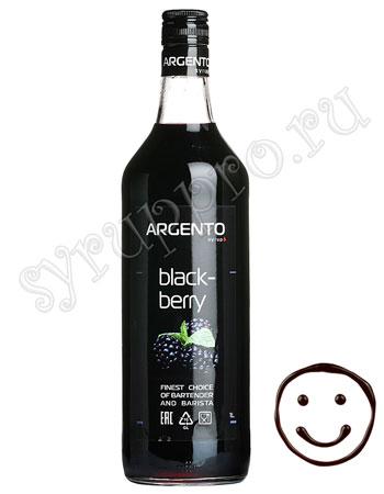 Сироп Argento Ежевика 1 литр