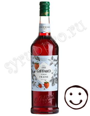 Сироп Giffard Клубника 1 л