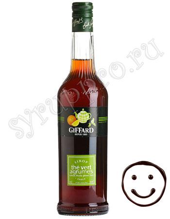 Сироп Giffard Цитрусовый зеленый чай 0.7 л
