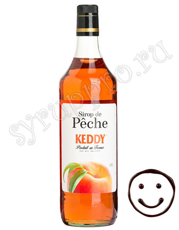 Сироп Keddy Персик 1 л