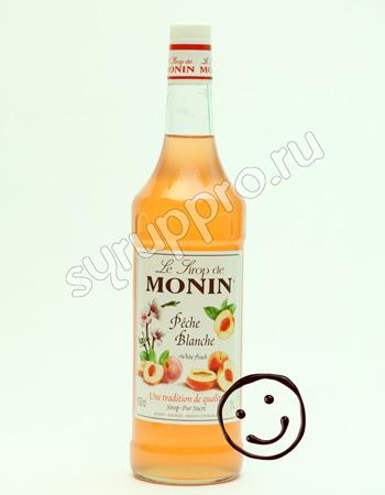Сироп Monin Белый Персик 1л