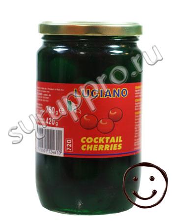 Коктейльная вишня Luciano Зеленая без черенков 750 мл