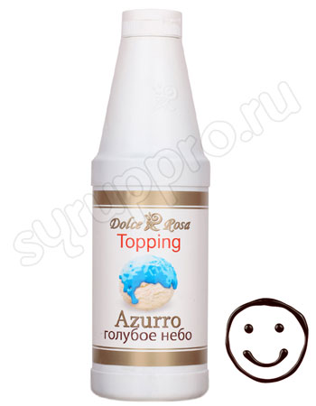 Топпинг Dolce Rosa Голубое Небо 1 л